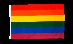 Bandiera Arcobaleno con orlo