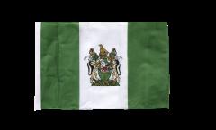 Bandiera Rhodesia meridionale con orlo