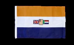 Bandiera Sudafrica vecchia con orlo
