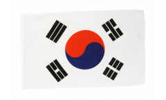 Bandiera Corea del sud con orlo