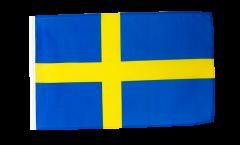 Bandiera Svezia con orlo