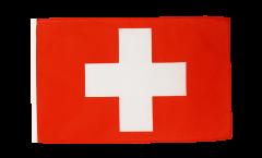 Bandiera Svizzera con orlo