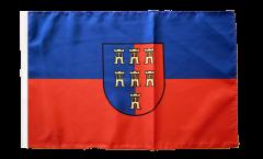 Bandiera Sassoni di Transilvania con orlo