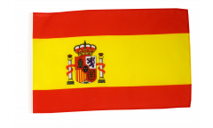 Bandiera Spagna con orlo