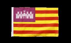 Bandiera Spagna Baleari con orlo