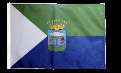 Bandiera Spagna El Hierro con orlo