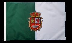Bandiera Spagna Fuerteventura con orlo