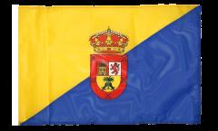 Bandiera Spagna Gran Canaria con orlo