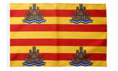 Bandiera Spagna Ibiza con orlo