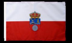 Bandiera Spagna Cantabria con orlo