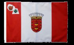 Bandiera Spagna La Gomera con orlo