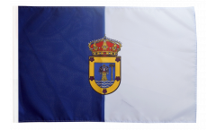 Bandiera Spagna La Palma con orlo