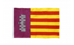 Bandiera Spagna Maiorca con orlo