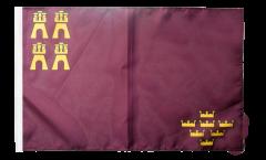 Bandiera Spagna Murcia con orlo