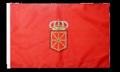 Bandiera Spagna Navarra con orlo