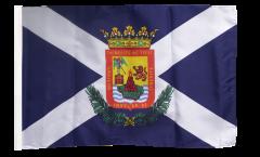 Bandiera Spagna Tenerife con orlo