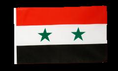 Bandiera Siria con orlo