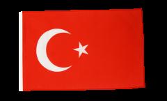 Bandiera Turchia con orlo
