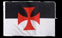 Bandiera Templari con orlo