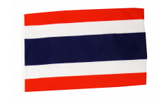 Bandiera Tailandia con orlo