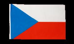 Bandiera Repubblica Ceca con orlo