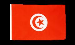 Bandiera Tunisia con orlo