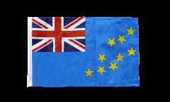 Bandiera Tuvalu con orlo