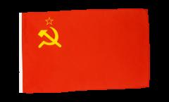 Bandiera URSS Unione sovietica con orlo