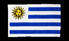 Bandiera Uruguay con orlo