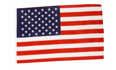 Bandiera USA con orlo