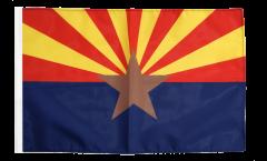 Bandiera USA Arizona con orlo