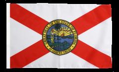 Bandiera USA Florida con orlo