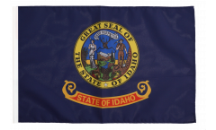Bandiera USA Idaho con orlo