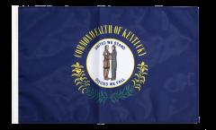 Bandiera USA Kentucky con orlo