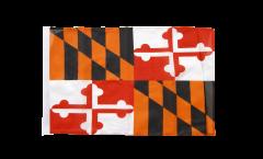 Bandiera USA Maryland con orlo
