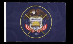 Bandiera USA Utah con orlo