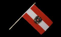 Bandiera da asta Austria con l'aquila