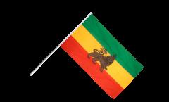 Bandiera da asta Etiopia vecchia