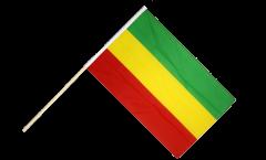 Bandiera da asta Etiopia senza stemmi, Rasta