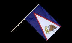 Bandiera da asta Samoa Americane