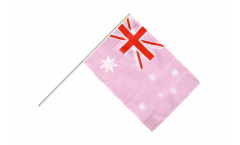 Bandiera da asta Australia Rosa