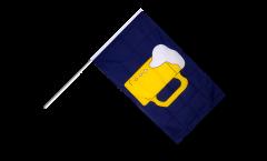 Bandiera da asta Birra