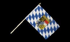 Bandiera da asta Germania Baviera con stemmi