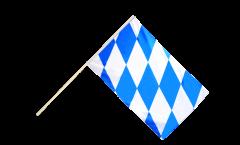 Bandiera da asta Germania Baviera senza stemmi