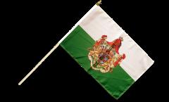 Bandiera da asta Germania Regno di Sassonia 1806-1918
