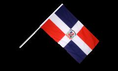 Bandiera da asta Repubblica Domenicana