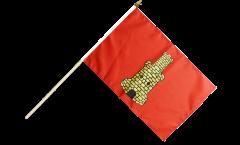 Bandiera da asta Francia Caen