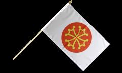 Bandiera da asta Francia Hérault