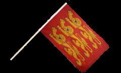 Bandiera da asta Francia Alta Normandia, treis cats