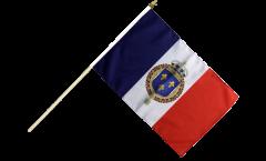 Bandiera da asta Francia stemma regale